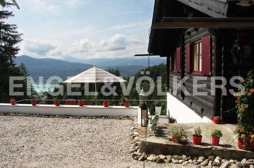 Charmantes Ferienhaus – See & Bergpanorama