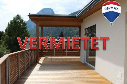 VERMIETET: 2-Zi-Penthouse mit riesen Dachterrasse und Festungsblick in Kufstein zu mieten