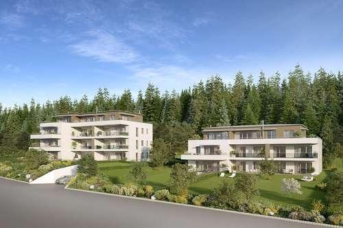 Panoramaperle - Reifnitz am Wörthersee! Lifestyle-Gartenwohnung mit schöner Grünfläche!