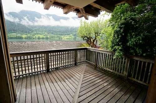 Erstklassige Balkonwohnung direkt am Grundlsee – vollmöbliert, TopLage – Miete Grundlsee