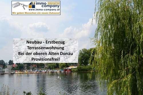 Modern Living bei der Alten Donau! Terrassenwohnung