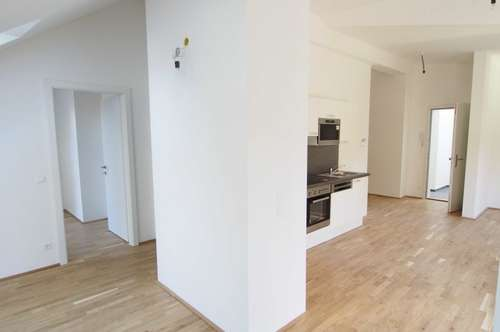 2 Zimmerwohung mit 20qm Dachterrasse