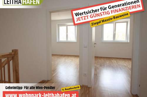 Haus 20! Doppelhaushälfte im Wohnpark Leithahafen!