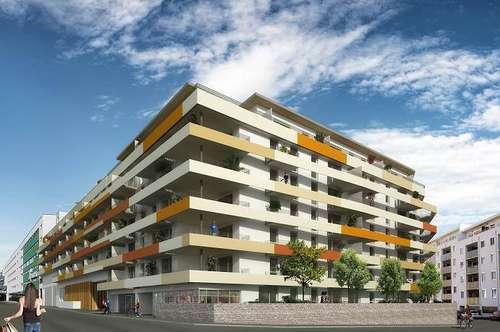 Süd gerichtete 2 Zimmmer Wohnung - ANNA Maria - PROVISIONSFREI - Erstbezug - an Juni 2018