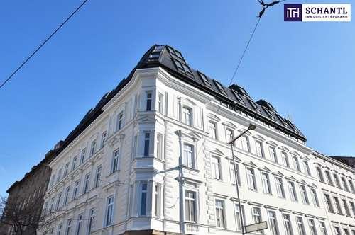 Rundum saniertes traumhaftes Altbauhaus + Tolle Altbauwohnung ganz nach Wunsch! Perfekte Raumaufteilung + Hofseitiger Balkon + Beste Infrastruktur!