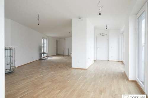 Trendige 3-Zimmer-Terrassen-Wohnung mit direktem Lift nahe Augarten/U4 Friedensbrücke
