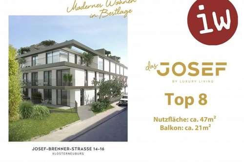"""""""Das Josef"""" TOP 8 Terrassenwohnung"""