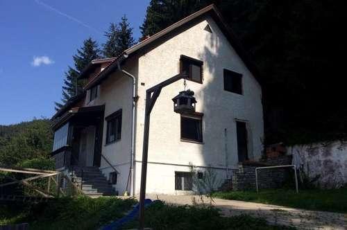 Einzugsbereites Einfamilienhaus zum Fertigstellen