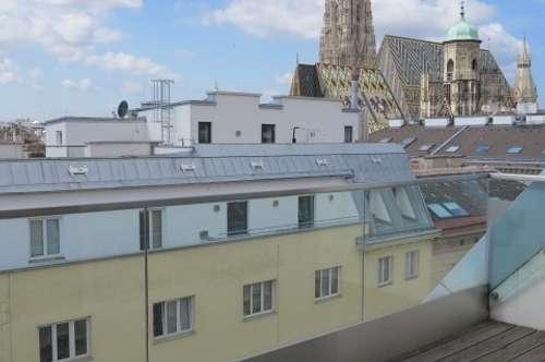 Traumwohnung mit Blick auf den Stephansdom