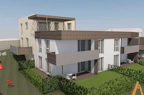 Schlüsselfertige Neubaueigentumswohnung