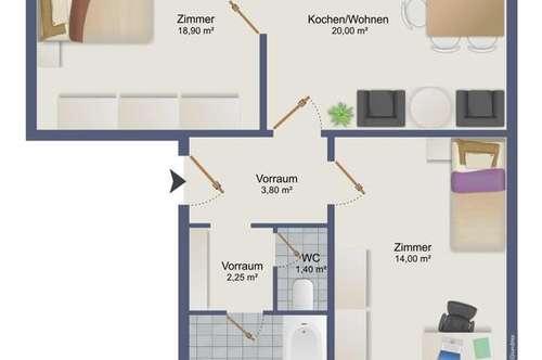 Für Anleger - 2 Wohnungen gemeinsam kaufen