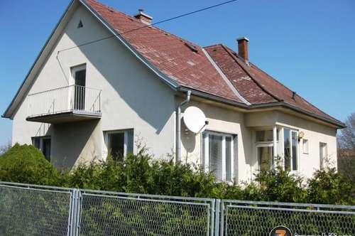 Oberschützen: Einfamilienhaus in traumhafter Ruhelage!