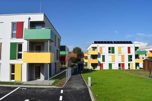 Glückliche Lage -  Mietwohnung mit Loggien/Terrassen/Eigengärten