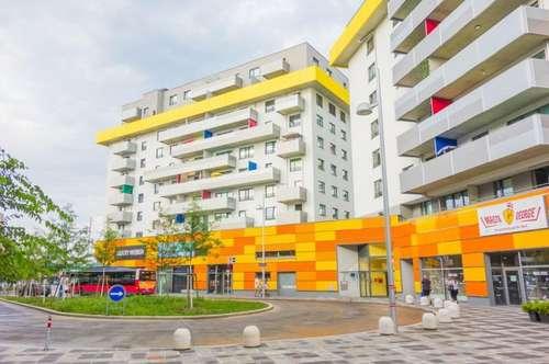 Moderne 60 m2 Zwei-Zimmer-Wohnung mit 12 m2 großer Loggia direkt beim City Gate, Nähe U1 zu vermieten!