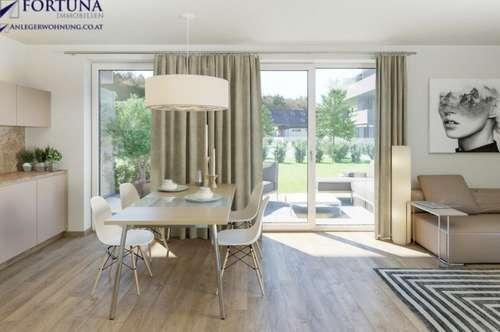 NEU: Moderne & leistbare 2 Zimmer Wohnung mit Garten und Terrasse!