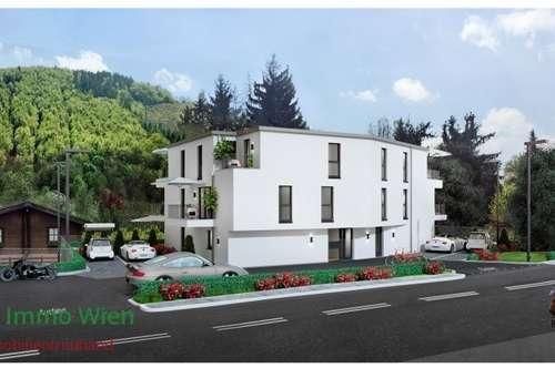 -! PROVISIONSFREI !- Neu errichtete 3 Zimmer Wohnung mit Balkon und Parkplatz westlich von Wien