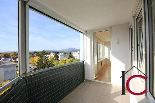 5-Zi.-Eigentumswohnung mit großer Loggia und Garage in ruhiger Sonnen-Aussichtslage