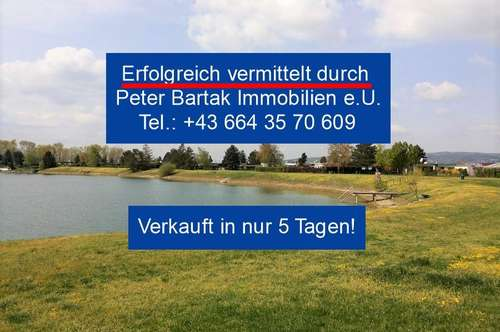 NICHT TRÄUMEN, KAUFEN! - SEEHAUS AM PERGERSEE IN TRAUSDORF/WULKA MIT 606m² EIGENGRUND -Peter Bartak Immobilien e.U.