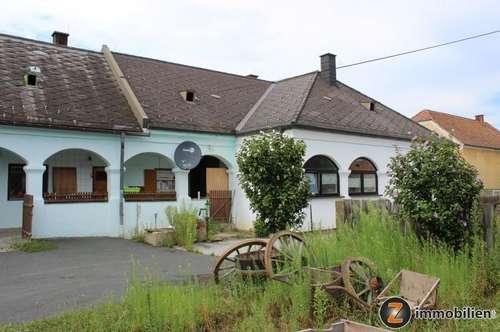 Altes Bauernhaus mit großer Halle