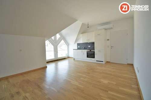 Charmante 1 ZI-Wohnung mit Küche und Klimaanlage in Perg - Zentrum