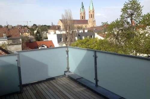 Dachgeschoßmaisonette mit Terrasse