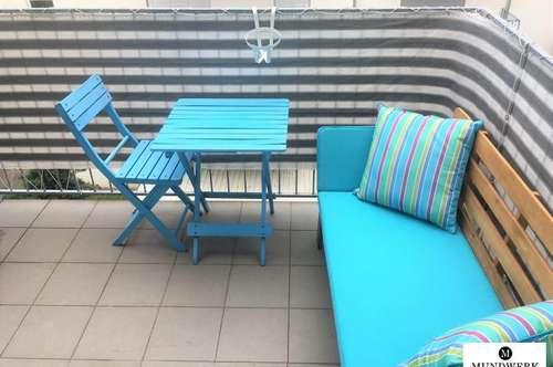gemütliche 2 Zimmerwohnung - zentral - Balkon & TG Platz - ab September!
