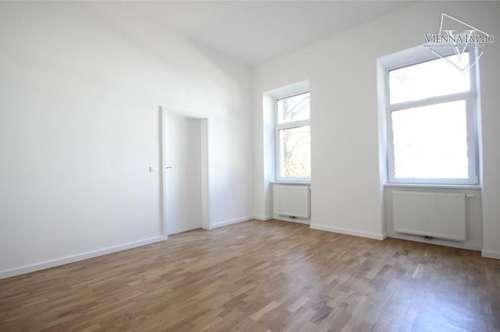 Perfekt gelegene 2-Zimmer Altbauwohnung mit 3,70m Raumhöhe neben dem Donaukanal/Augarten