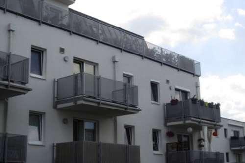 2012 errichtete 3-Zimmer-Eck-Wohnung mit Balkon und großem Schrankraum