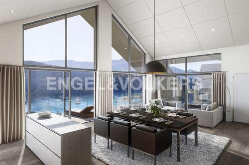 """Wohnprojekt """"lakeVIEWmillstatt"""" - Wohnung PENTHOUSE TOP A7"""