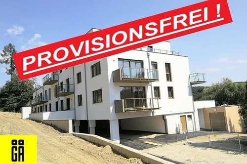 ERSTBEZUG - PROVISIONSFREI für Käufer - 3 Zimmer - RUHIGE LAGE - Wienerwald - NEUBAU - 1.OG Top 8 - INKL. BALKON - KFZ Tiefgarage - BELAGSFERTIG FERTIGGESTELLT