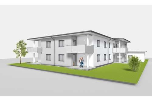 Neubau einer 3-Zimmer Eigentumswohnung