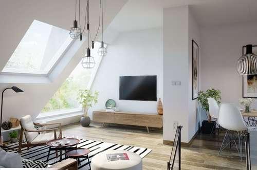 On Top! Exklusiv ausgestattetes Dachgeschoss-Apartment mit Balkon und Terrasse!