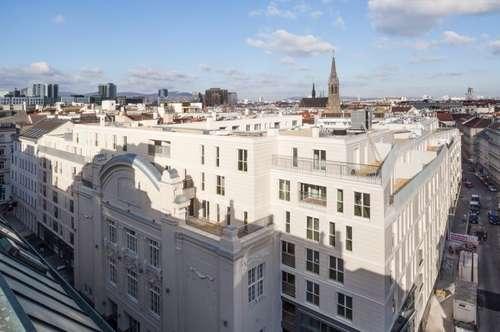 Sonnenblick - Sofiensäle - Wohnen in historischem Ambiente! Vierzimmer-Dachterrassen-Wohnung Marxergasse 17 Top 1.29