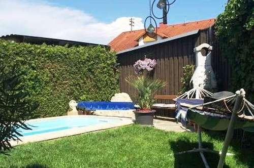 Wohlfühloase mit Garten und Pool