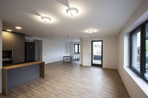 114 m², 4 große Zimmer mit Terrasse! ERSTBEZUG Privat! Hell und exklusiv ausgestattet! Ruhige Lage, große Wohnung