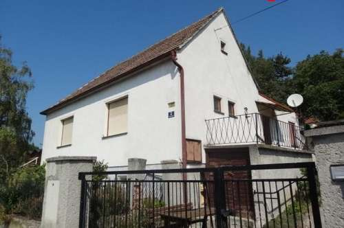 7051 Großhöflein sehr interessantes kleines Haus in herrlicher Süd Hanglage mit traumhaften Fernblick!