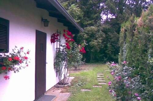 Idyllisches Haus mit Garten