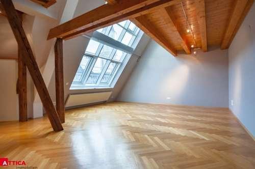 Exklusive Dachgeschosswohnung am Kohlmarkt