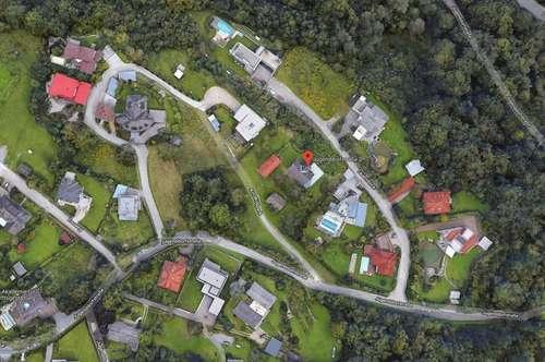 Klagenfurt: großzügiges SEEblick-Baugrundstück mit Altbestand
