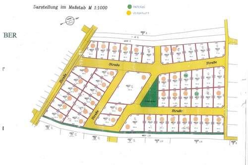 Baugrundstücke im Ortsverband in Neusiedl am See- Reitschacher