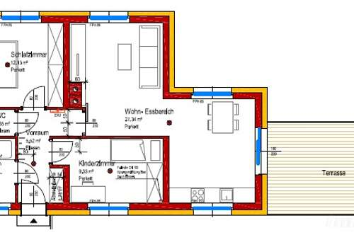 Moderne Mietwohnung (62m²) mit sonniger Terrasse in Fürstenfeld!