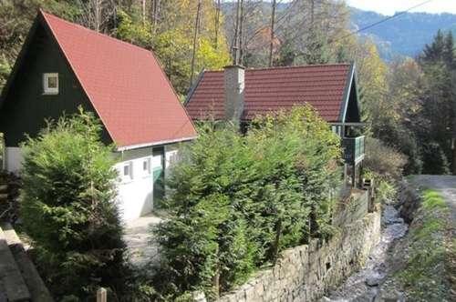 hübsch renoviertes Ferienhaus am Bach