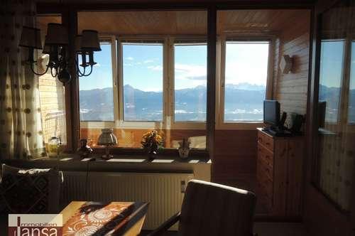 Traumhaftes Panorama! Sonnige 2-Zimmer-Wohnung auf der Gerlitzen
