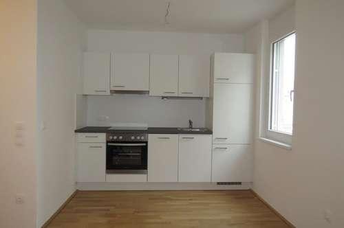 Anlage: Eigentumswohnungen (auch für Eigenbedarf): Nahe Alte Donau, U1, 2-Zimmer-Wohnung Terrasse mit Garage