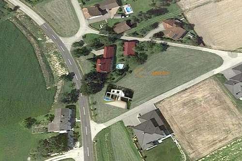 Grundstück mit Traumaussicht und Architektenhaus ca.140m² Ziegelmassiv, Topausstattung, belagsfertig+