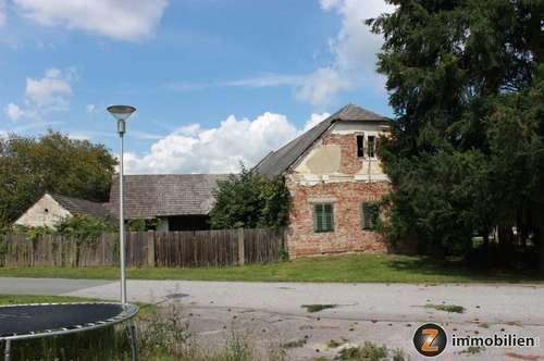 Sanierungsbedürftiges Arkadenbauernhaus