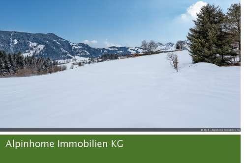 Sonniges Grundstück in Panoramalage mit Bestand in Nähe des Schwarzsees - EXCLUSIV durch Alpinhome Immobilien