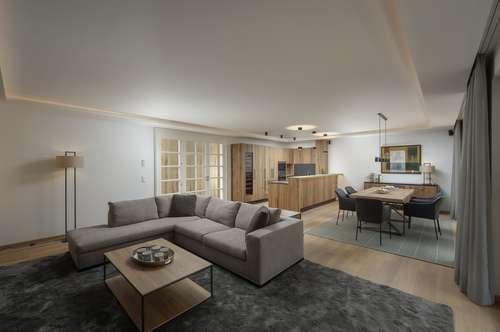 Luxus-Wohnung im Alpin-Stil in Kitzbühel