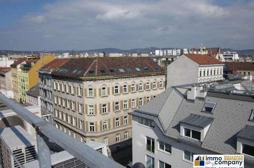3 Zimmer DG Maisonette mit 2 Terrassen in 1160