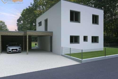 Designer-Baumeisterhaus ca.128m², 4 Schlafzimmer, ZIEGELMASSIV modernes Design - TOPAUSSTATTUNG